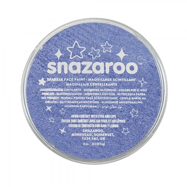 Snazaroo Schminkfarbe Leuchtendblau 18 ml