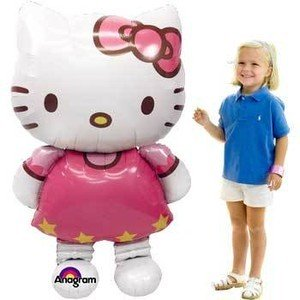 Jumbo Airwalker Ballon Hello Kitty - 127cm