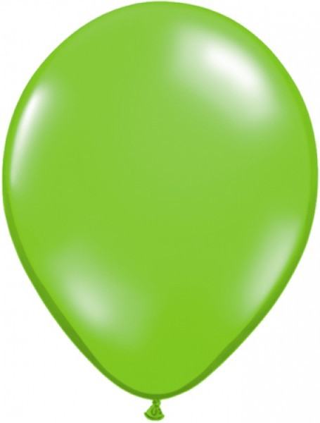 MiniLuftballons in Jewel Lime - 12,5cm