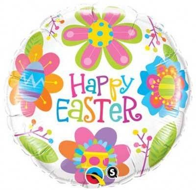 Happy Easter Frohe Ostern Folienballon