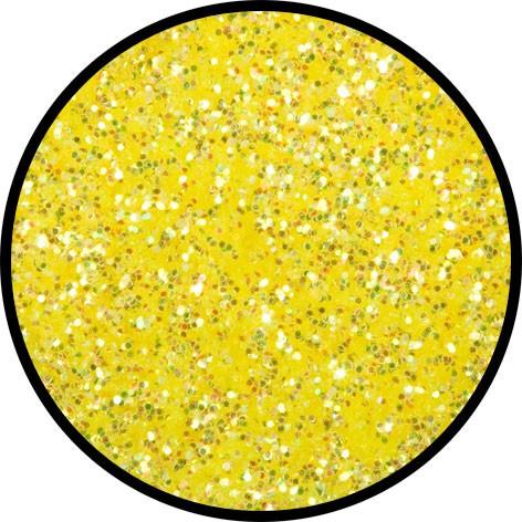 2 g Eulenspiegel Polyester Streu Glitzer Candy Yellow