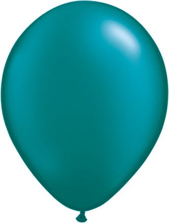 MiniLuftballons in Pearl Teal Latex - 12,5cm