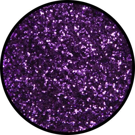 6 g Eulenspiegel Polyester Streu Glitzer Violett