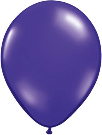 MiniLuftballons in Jewel Quartz Purple (lila) - 12,5cm