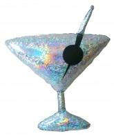 Prismatic Martiniglas Folienballon