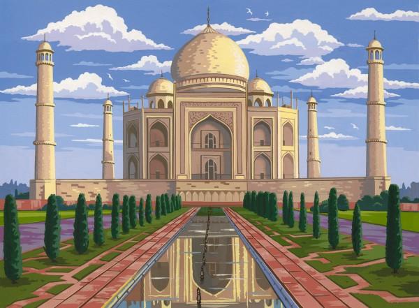 Reeves Malen nach Zahlen Tadsch Mahal