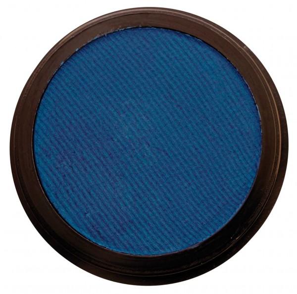 Eulenspiegel 35 ml Profi Aqua Make Up Perlglanz Blau