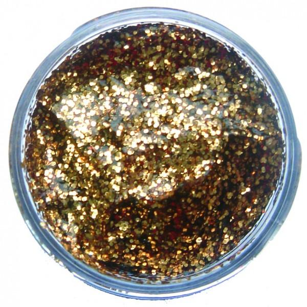 Snazaroo Glittergel Rotgold 12 ml