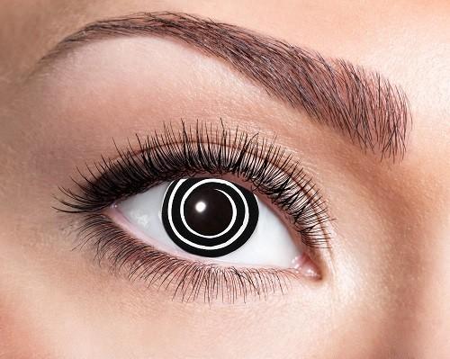 Eyecatcher Fantasy 12 Monatslinsen Black Spiral