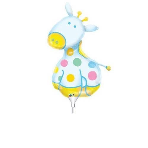 Mini Folienballon Soft Giraffe - 35cm