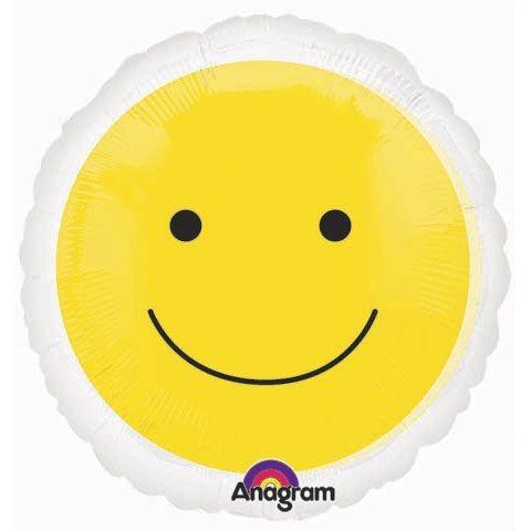 Magicolor Yellow Smiley Face Folienballon