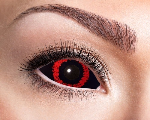 Eyecatcher Sclera 6 Monatslinsen Red Demon