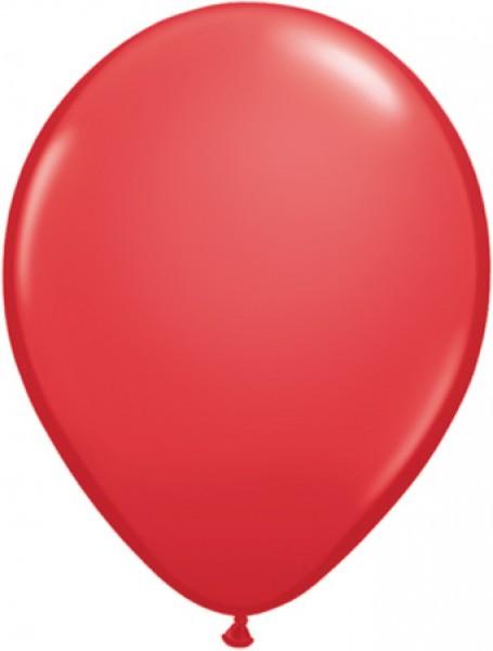 MiniLuftballons in Standard Rot - 12,5cm