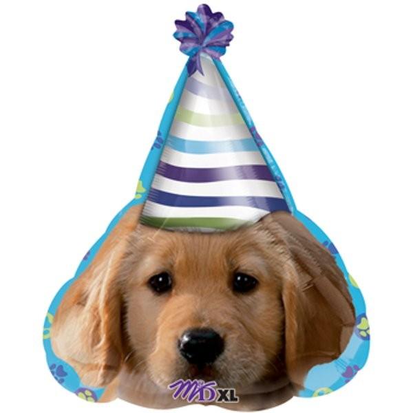 Party Hut - Puppy Folienballon - 45cm