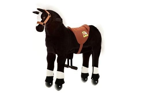 Animal Riding Pferd Maharadscha - schwarz / Small