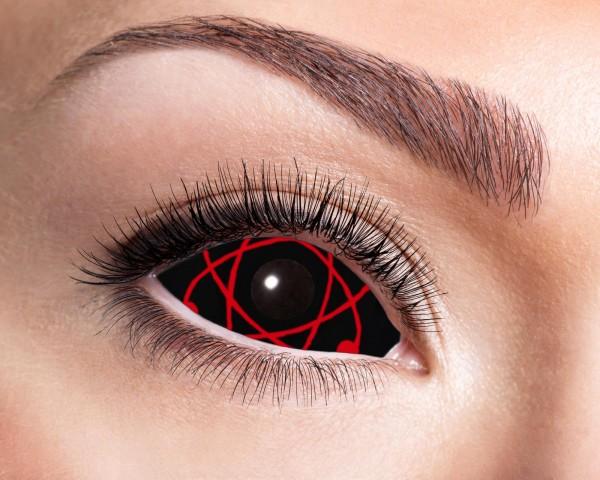 Eyecatcher Sclera 6 Monatslinsen Red Atomic