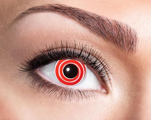 Eyecatcher Fantasy 12 Monatslinsen Red Spiral