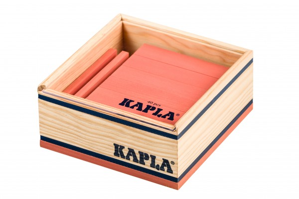 Kapla 40er Quadrat (rosa)