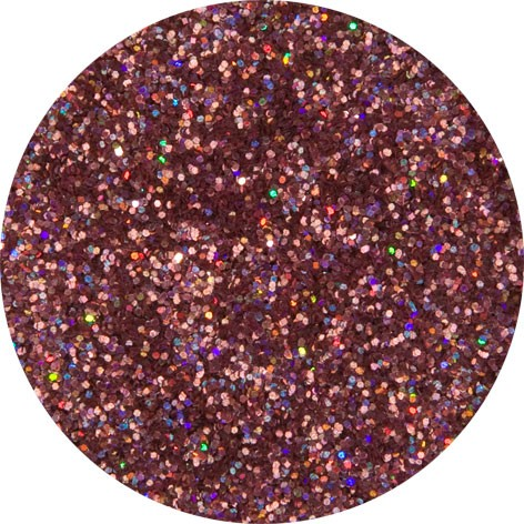 2 g Holographischer Streu Glitzer Rot Juwel