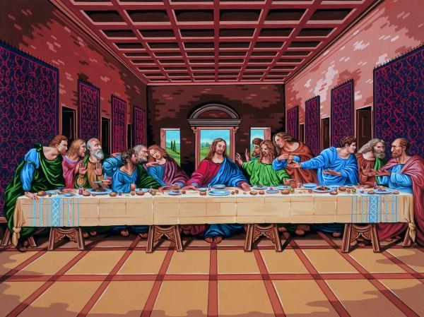 Reeves Artist Collection Malen nach Zahlen Letztes Abendmahl