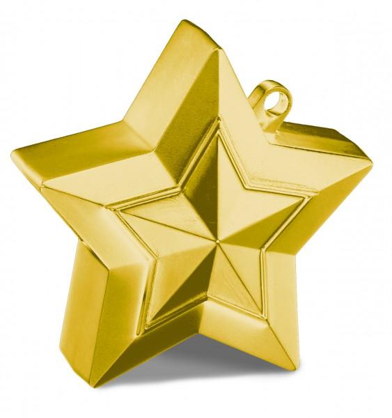 Gold Stern Luftballon Gewicht