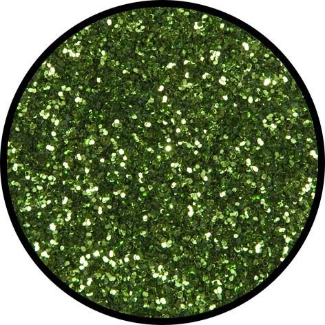 6 g Eulenspiegel Polyester Streu Glitzer Limette