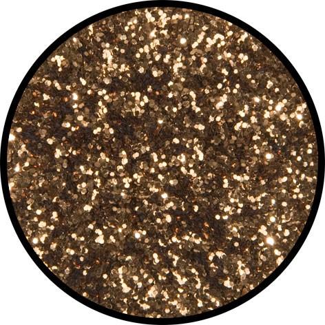2 g Eulenspiegel Polyester Streu Glitzer Zimtfarben