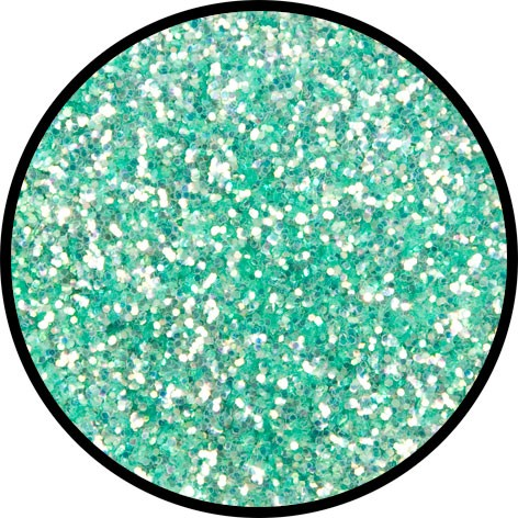 6 g Eulenspiegel Polyester Streu Glitzer Frosted Green