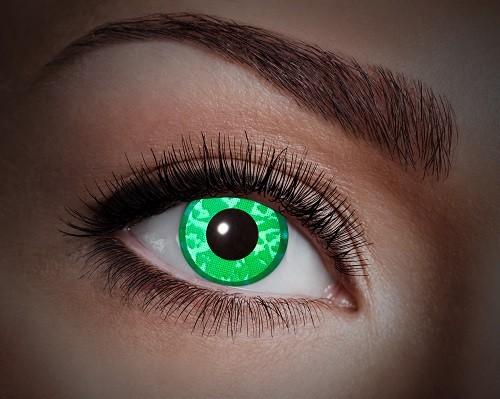 Eyecatcher UV 12 Monatslinsen Green Diamond