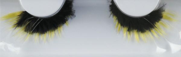 Grimas Wimpern mit Federn 158