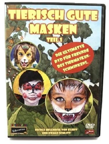 """DVD """"Tierisch gute Masken"""" Teil 1"""