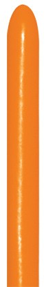 Sempertex Orange 061 260S Nozzle up Modellierballons