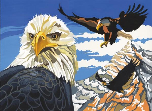 Reeves Malen nach Zahlen Adler