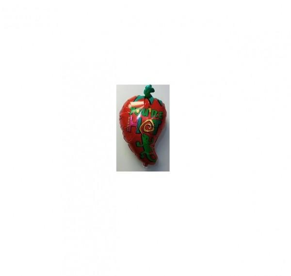 Chili Schote Folienballon - 73cm