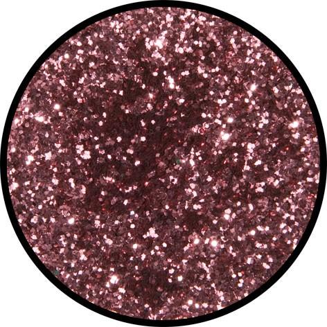 6 g Eulenspiegel Polyester Streu Glitzer Rosé