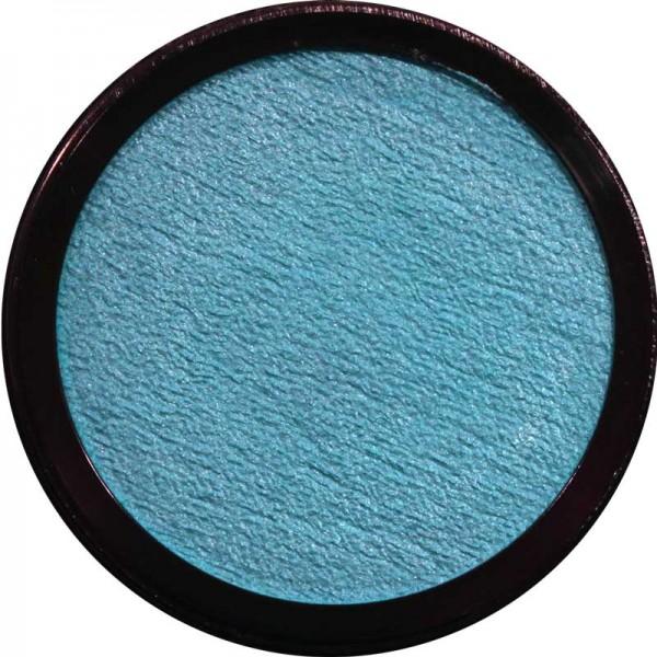 12 ml Profi Aqua Make Up Perlglanz Hellblau Eulenspiegel