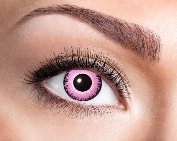 Eyecatcher Fantasy 12 Monatslinsen Pink Eye