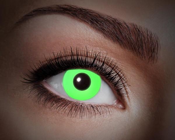 Eyecatcher UV Flash 1 Monatslinsen Flash green