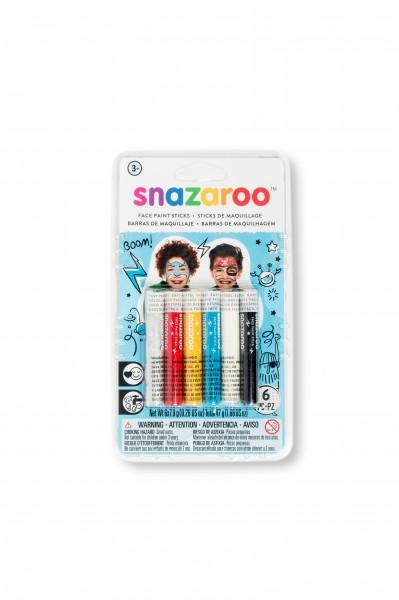 Snazaroo Schminkstifte Set Jungen