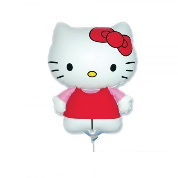 Mini Folienballon Hello Kitty - 35cm