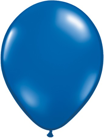 Latex Luftballons Jewel Sapphire Blue (Saphirblau) 10St. - 27,5 cm
