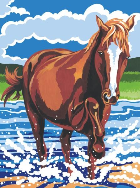 Reeves Junior Malen nach Zahlen Pony