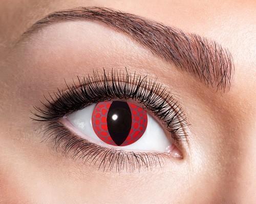 Eyecatcher Fantasy 12 Monatslinsen Red Dragon