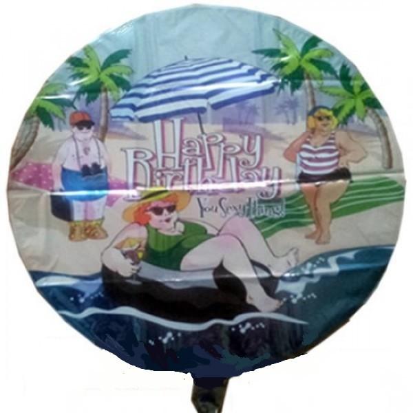 Happy Birthday you sexy Thing Folienballon - 45cm