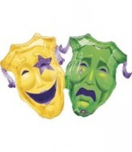 Karneval Maske Folienballon