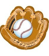 Baseball Handschuh Folienballon
