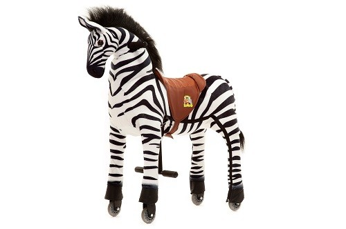 Animal Riding Zebra Marthi - X-Large