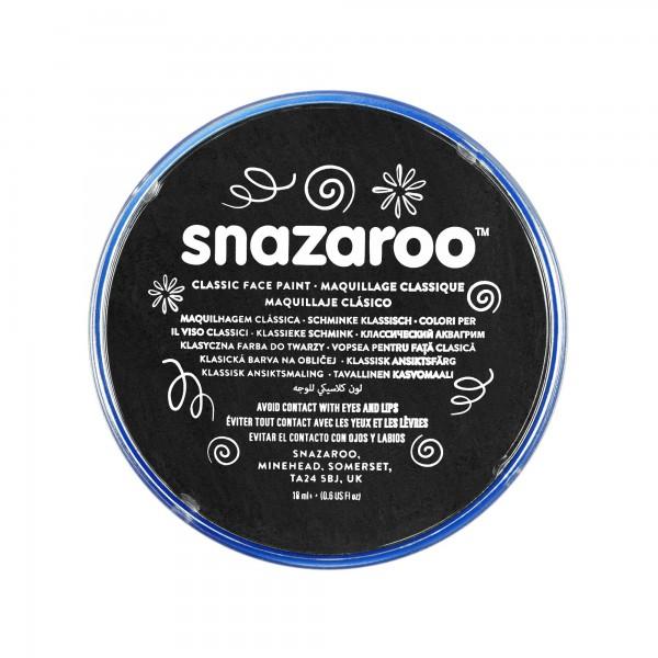 Snazaroo Schminkfarbe Schwarz 75 ml