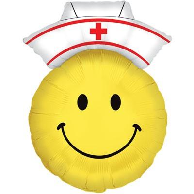 Krankenschwester Smiley - 71cm