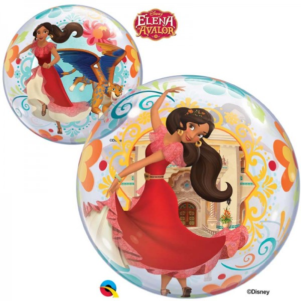 "Qualatex Bubble Disney Elena of Avalor 22"" 56cm Luftballon"